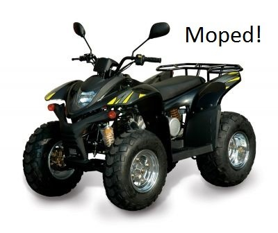 Endelig - SMC Mistral mopedregistrert