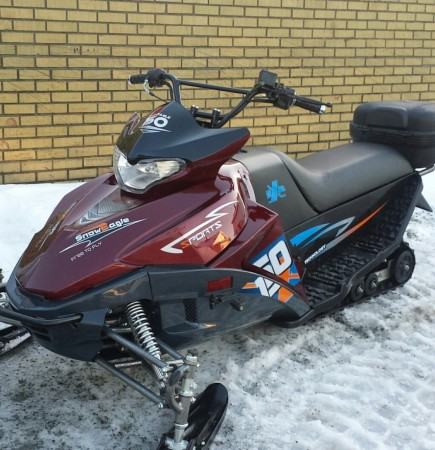 Barne/ungdoms- scooter 150cc - R�d