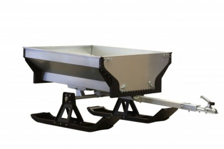 Iron Baltic ski for ATV henger